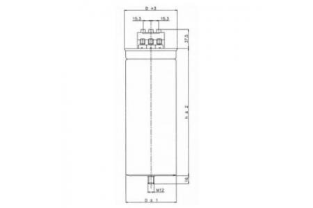 Condensator 12.5 KVAr/415V