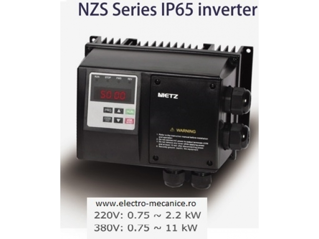 Convertizor de frecventa  monofazat IP65 0.75kW/1x230V
